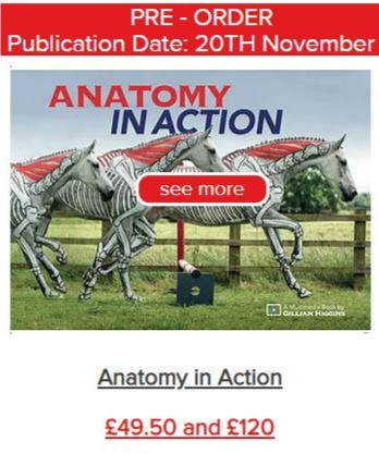 Anatomy in Action, horse book in biomechanics, equine locomotion, video course, training