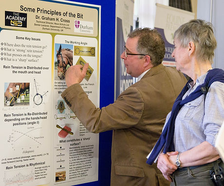 Learn about the latest published research with the scientific poster presentations at the horses inside out conference