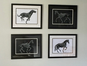WordArt Horse Skeletons