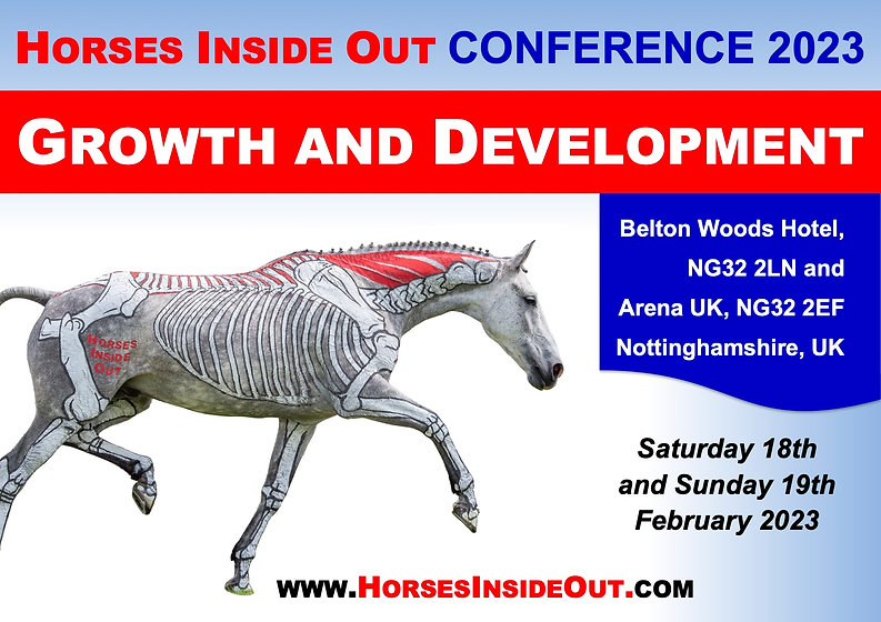 Growth and Development Horses Inside Out annual conference 2022, professional development CPD