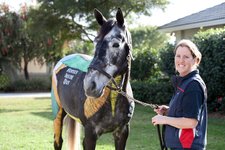 Gillian Higgins and Horses Inside Out in Florida