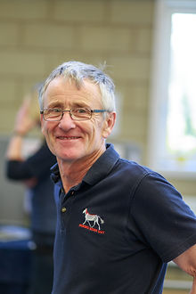 David Higgins, Horses Inside Out bookshop manager and rider