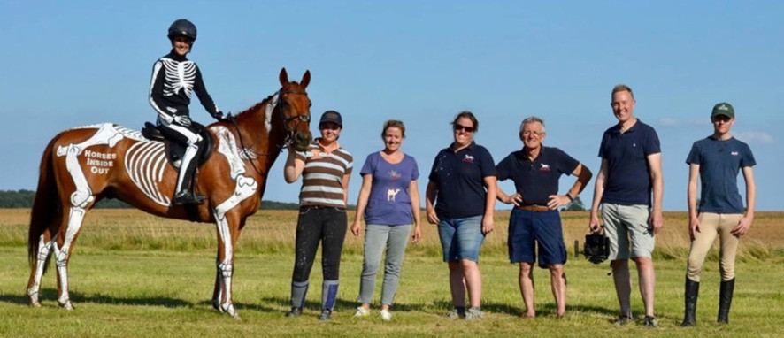 horses inside out team, gallop, photoshoot