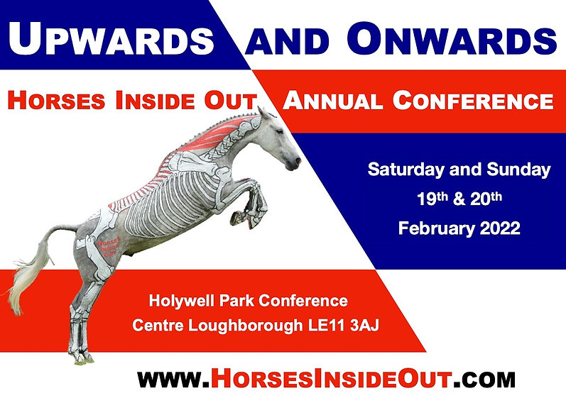 Horses Inside Out Annual Conference 2022 Upwards and Onwards, biomechanics of horse jumping, performance, therapy