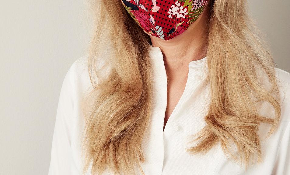 Zweilagige  Mund-Nasen-Masken