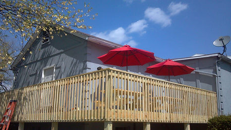 Outdoor Seating at Town Hill Tavern