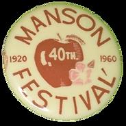 1960 Button
