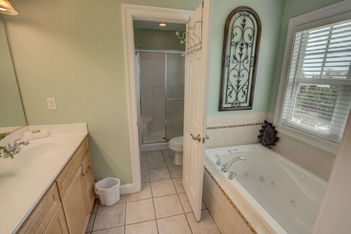 Green Shell Bath
