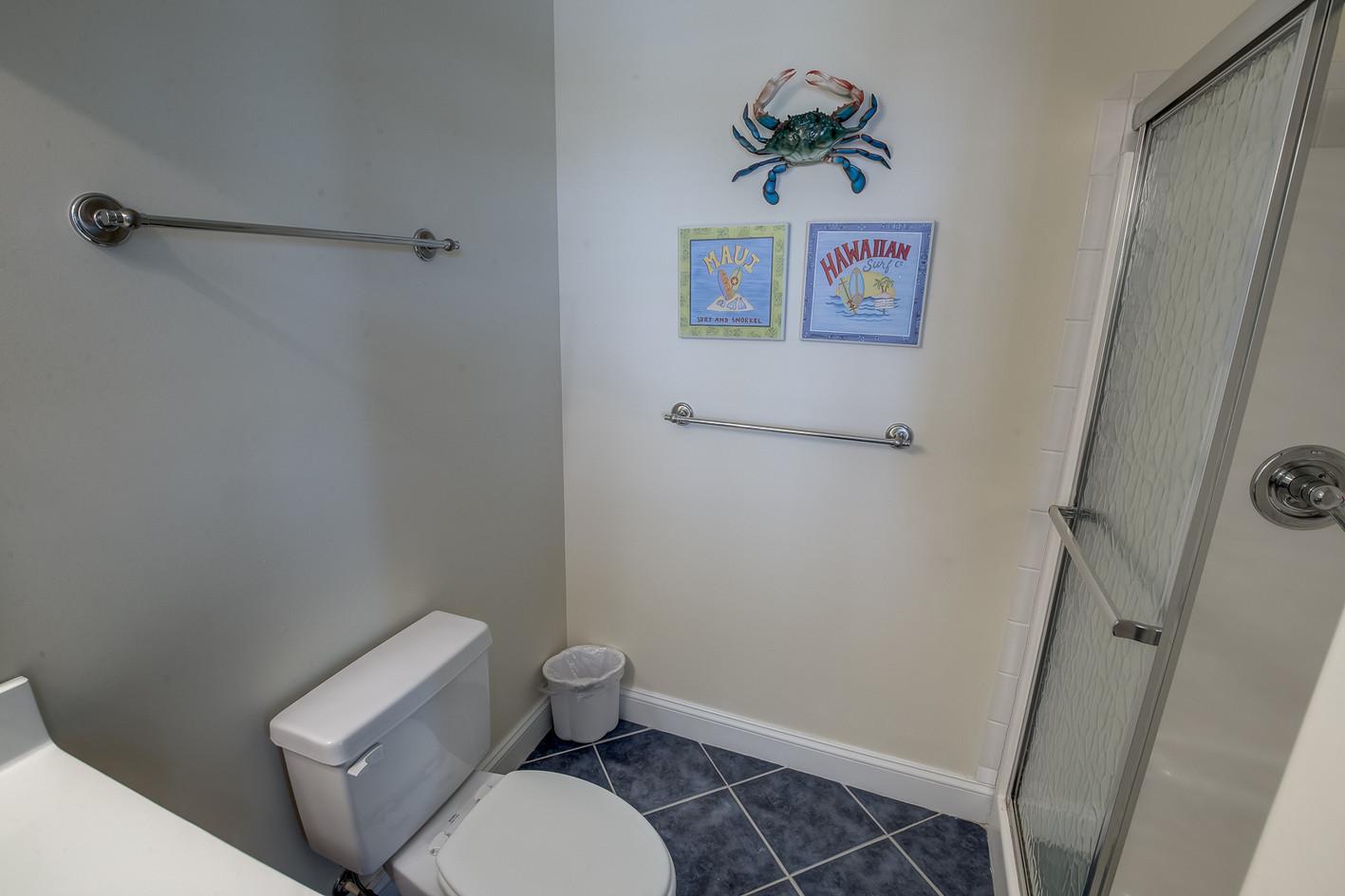 Double Bunk bathroom