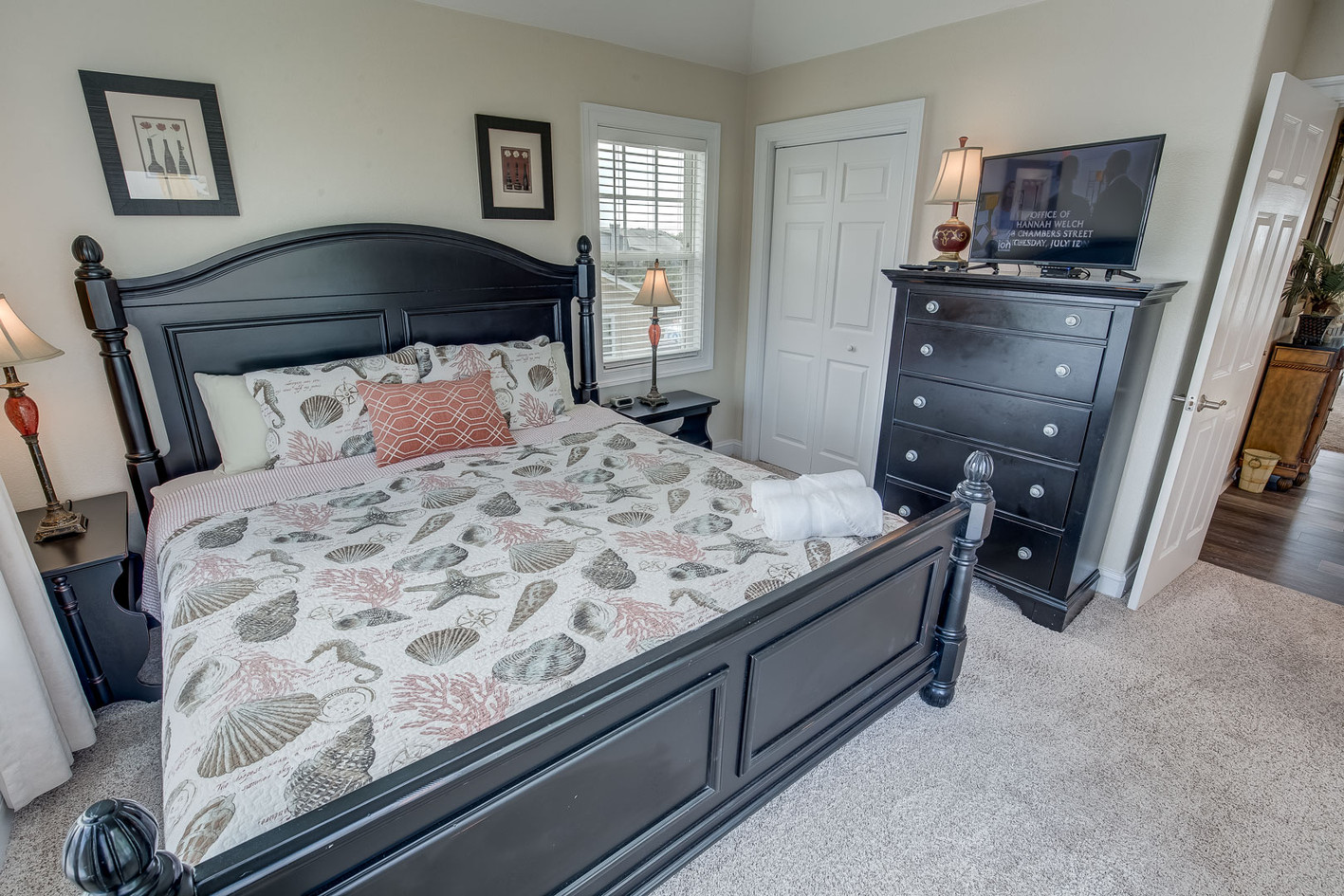 Brown Shell Bedroom