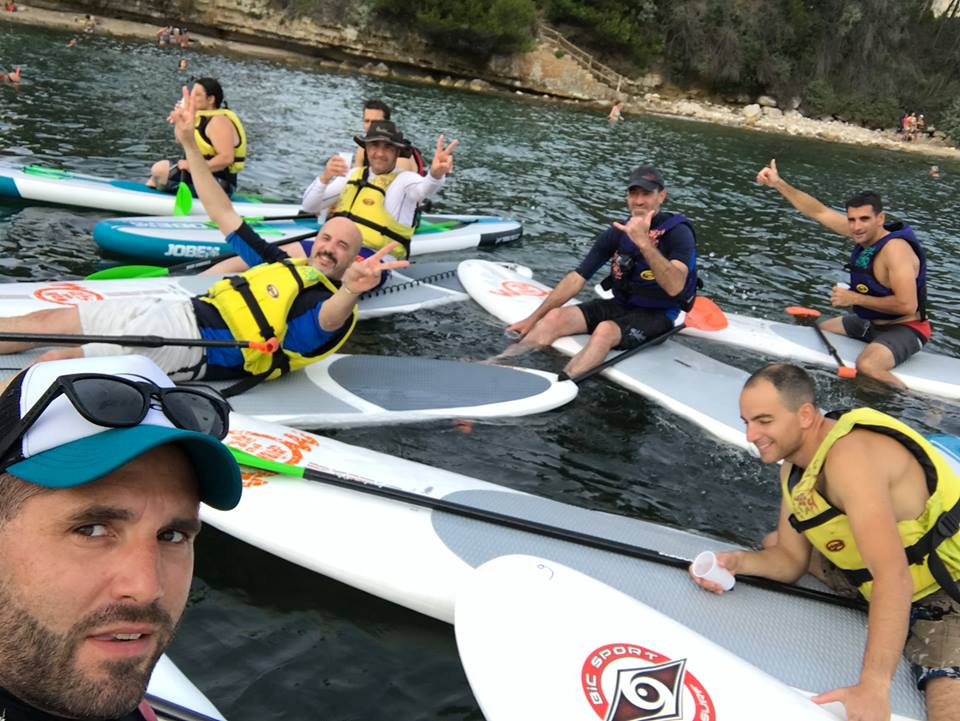 challenge stand up paddle