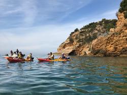 kayak calanques