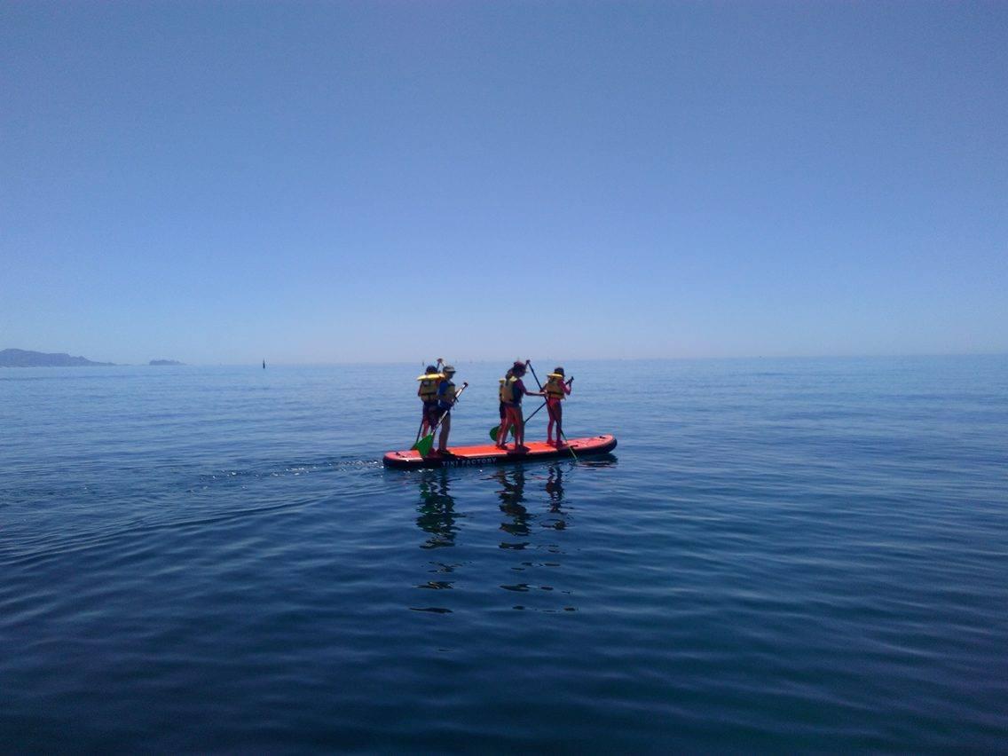 Paddle calanque