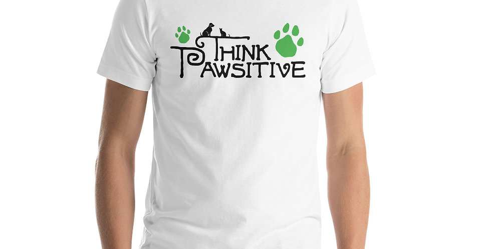Think Pawsitive Tee