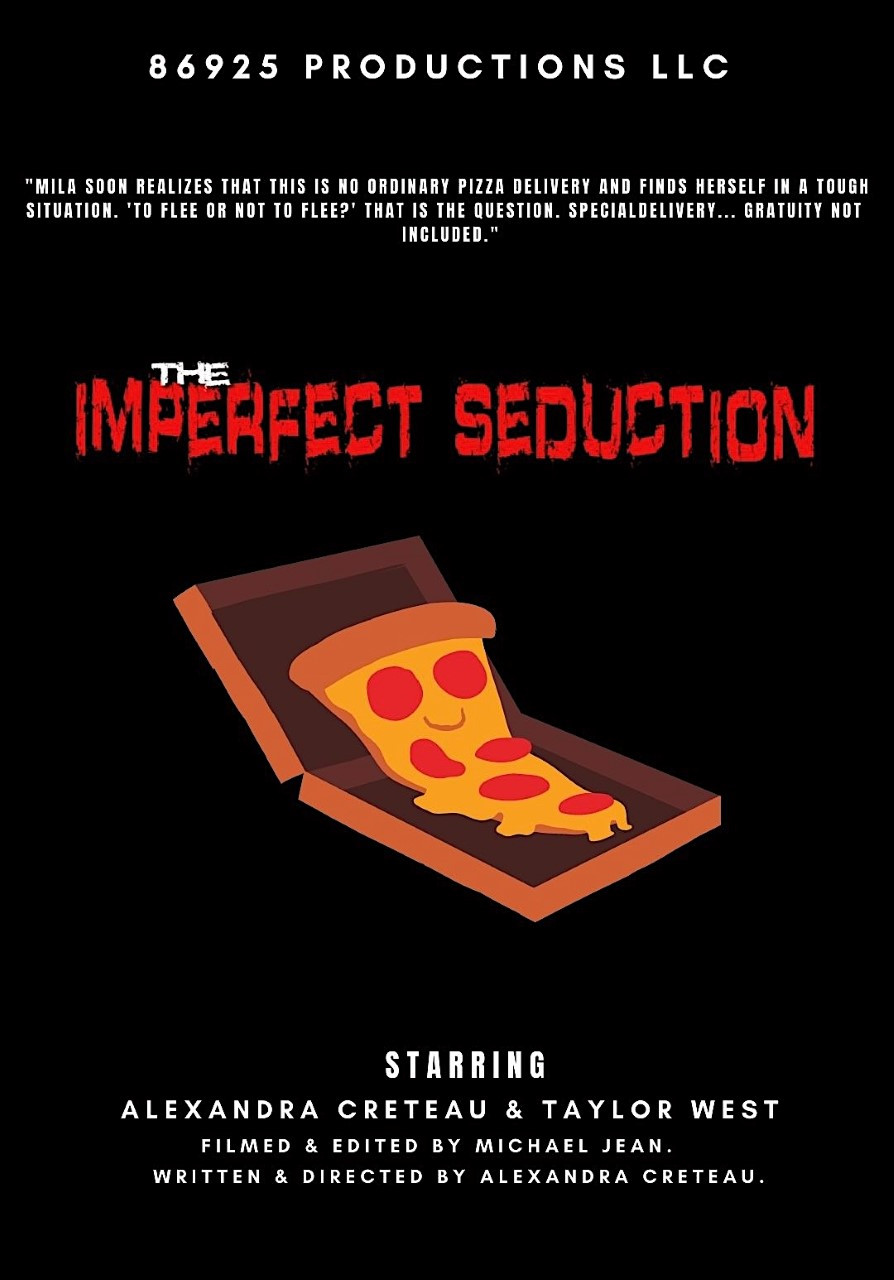 Poster for The Imperfect Seduction showing animation.