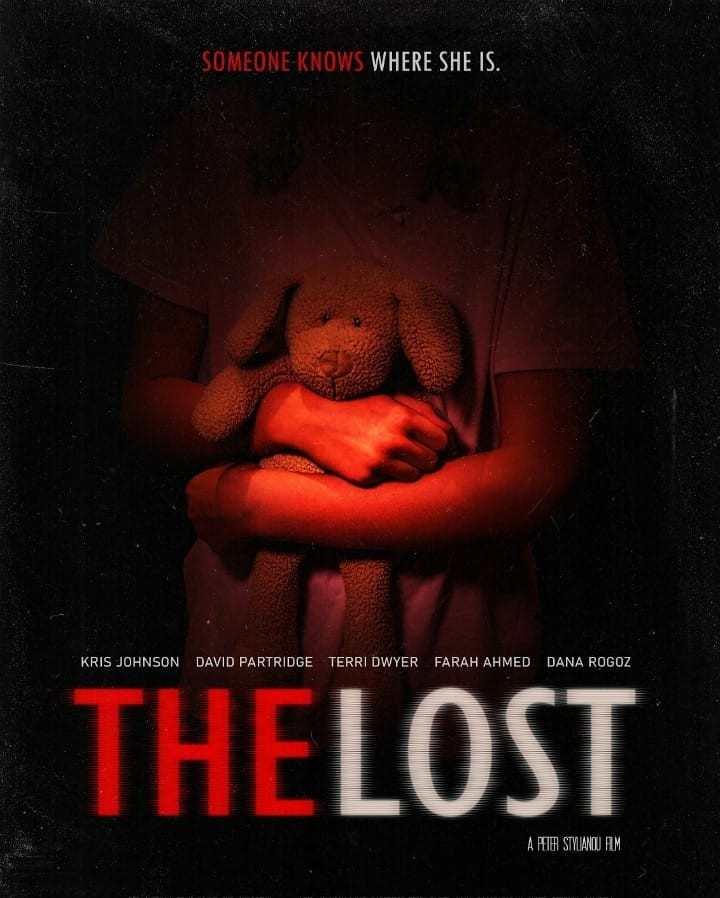 Poster for The Lost showing character holding toy.