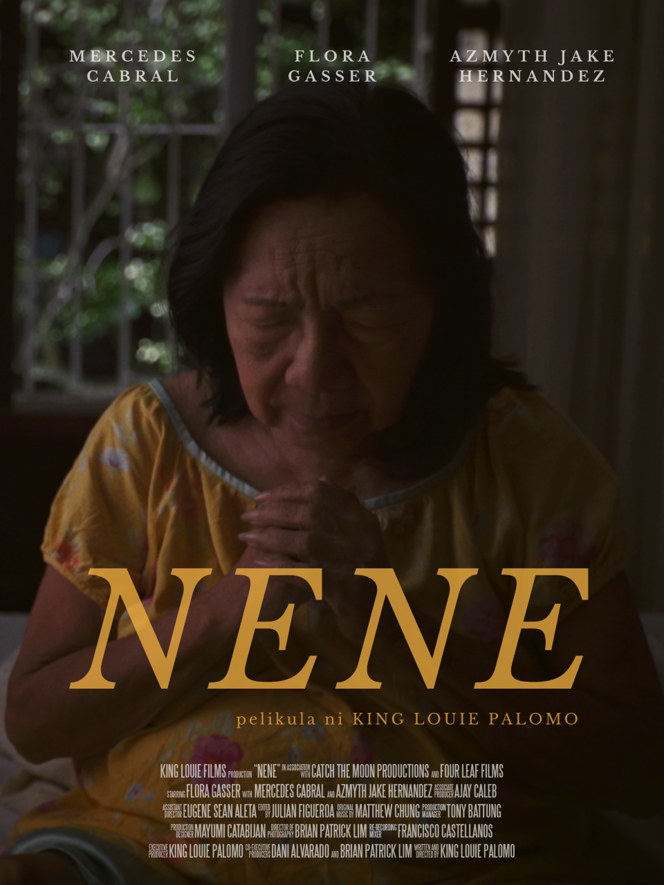 Poster for Nene showing protagonist.