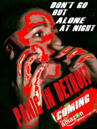 Poster for Panic in Detroit showing protagonist.