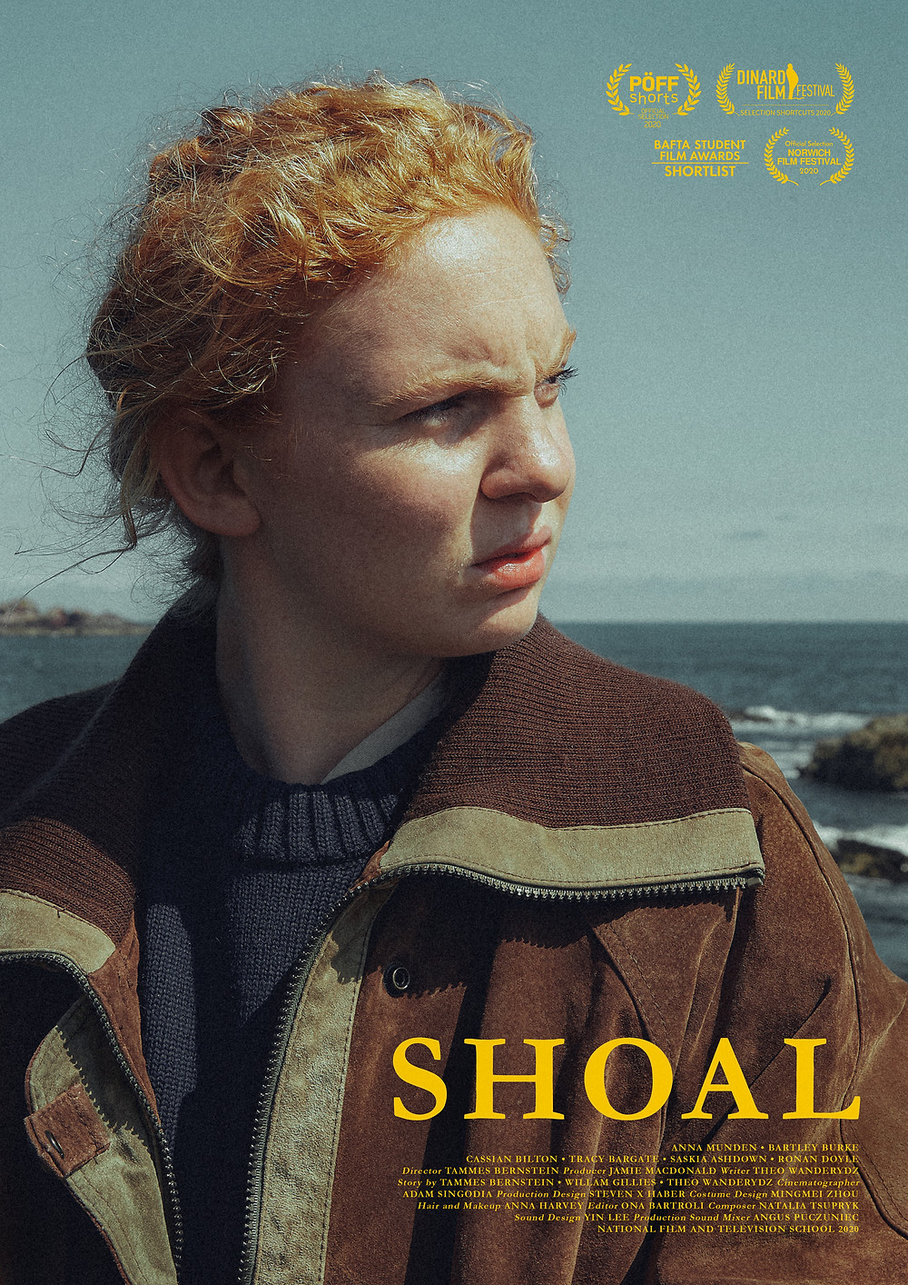 Poster for Shoal showing protagonist.