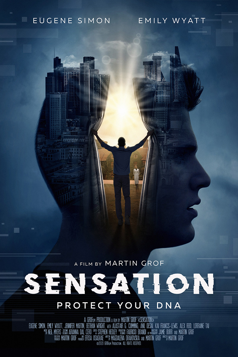 Poster for Sensation showing animation.
