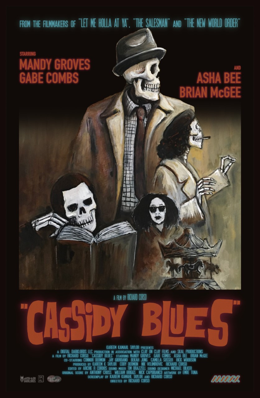 Poster for Cassidy Blues showing animation.