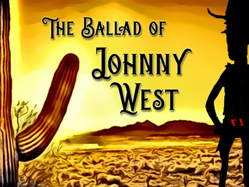 April Moon: The Ballad of Johnny West short animated film review