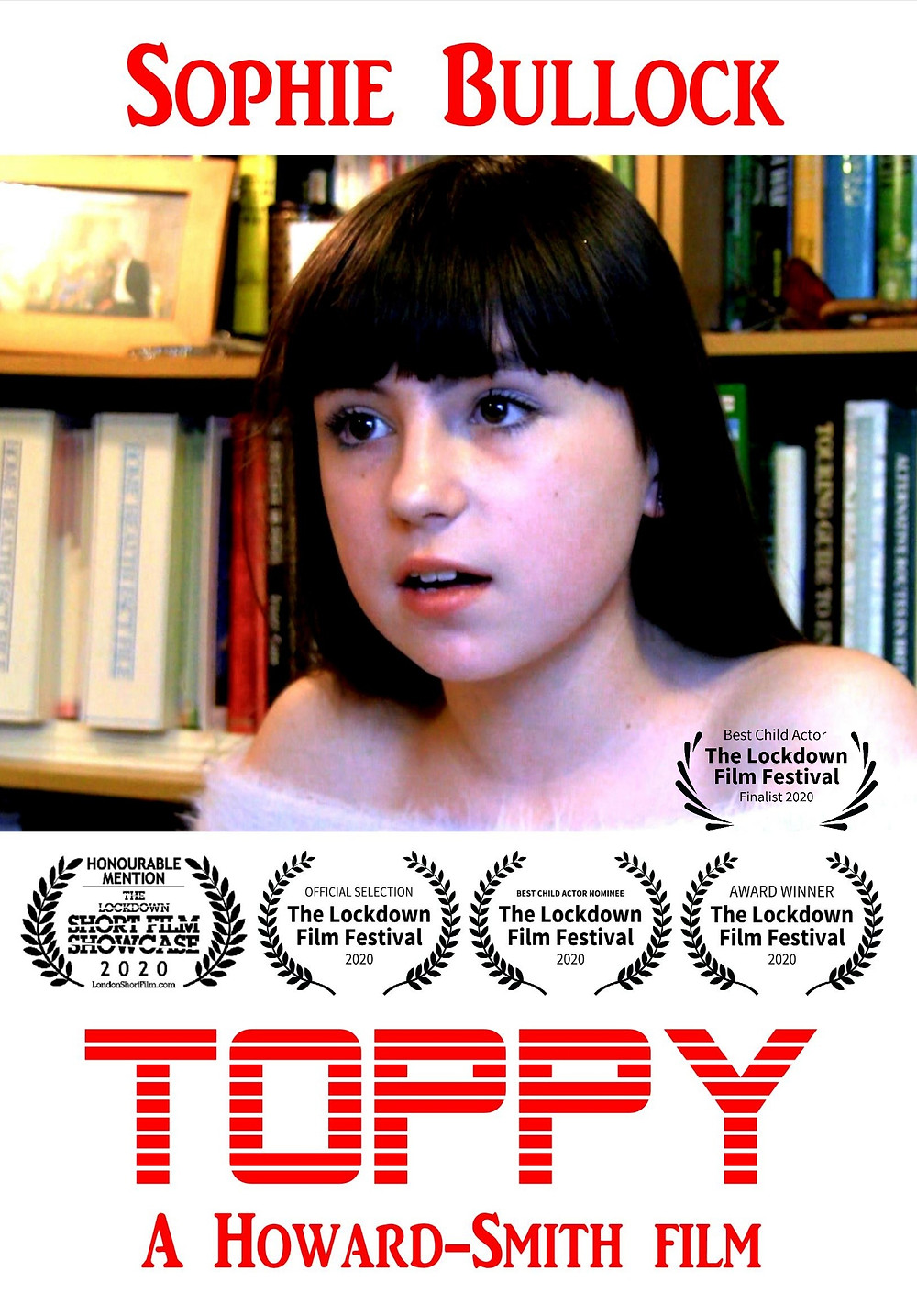 Poster for Toppy showing protagonist.