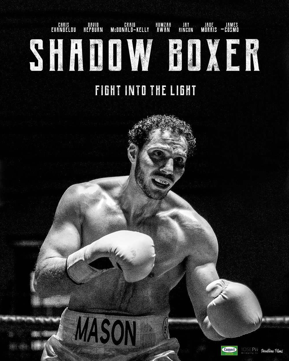 Poster for Shadow Boxer showing protagonist.