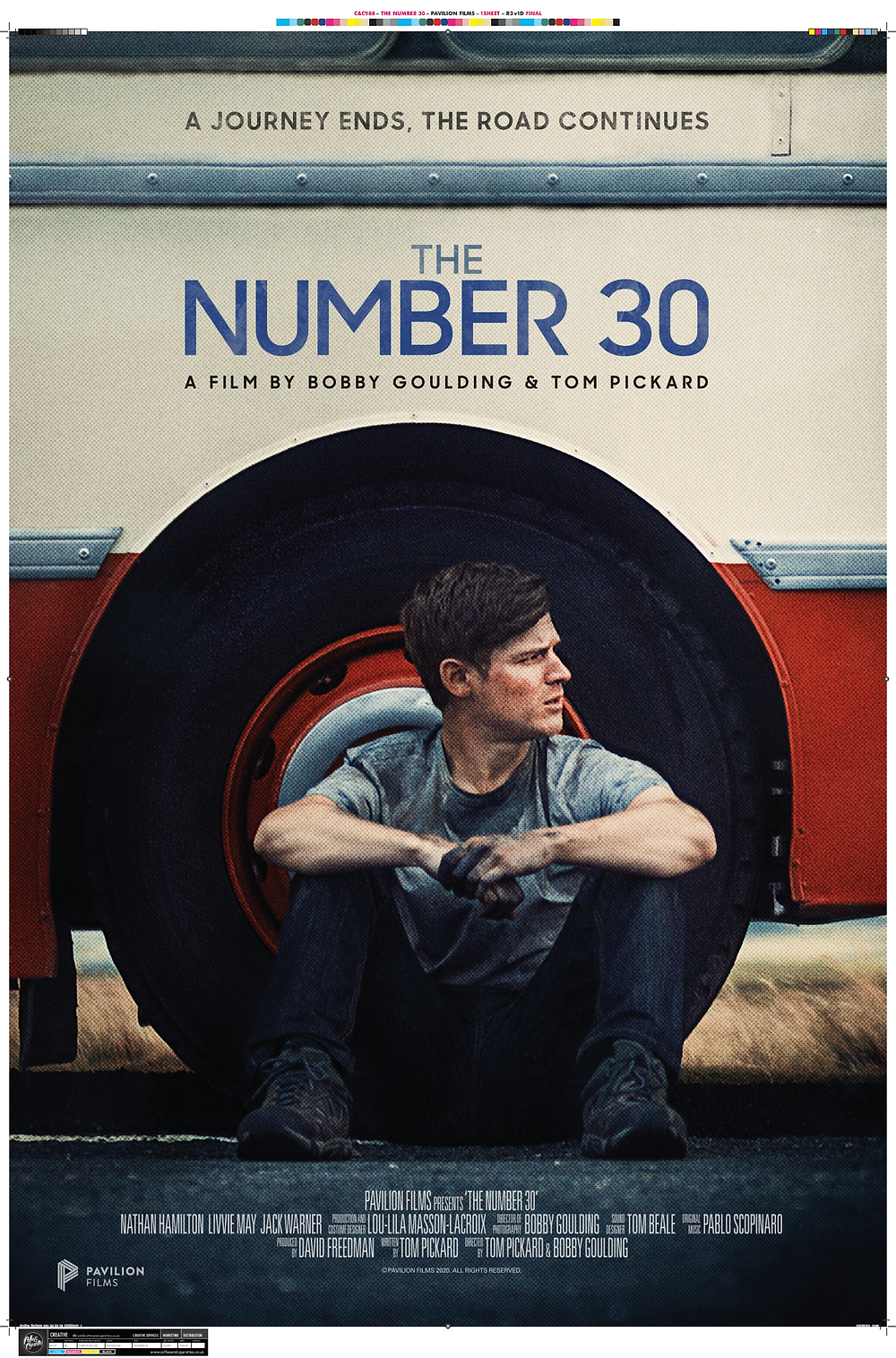 Poster for The Number 30 showing protagonist.