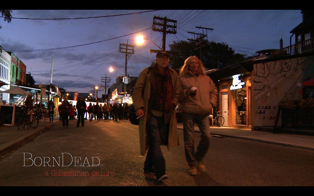 Still Image from Born Dead showing protagonists.