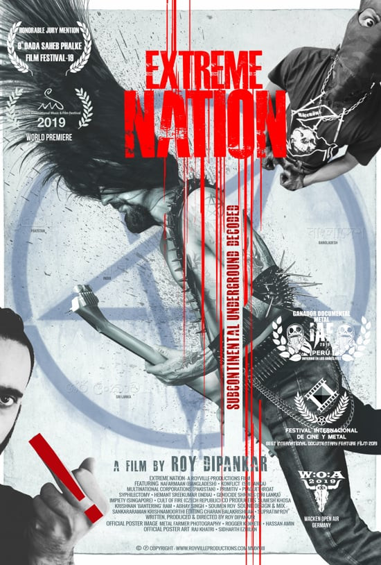 Poster for Extreme Nation showing performers.