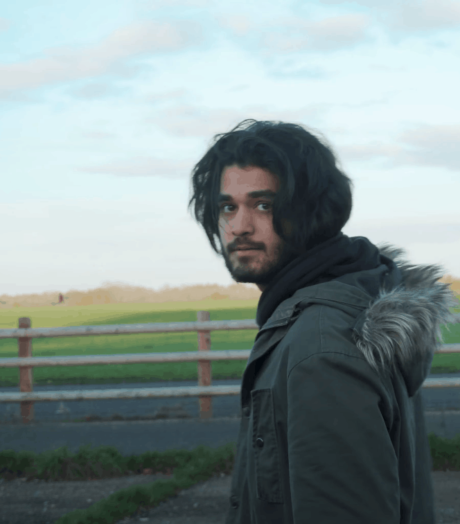 Still Image from Paths showing protagonist.