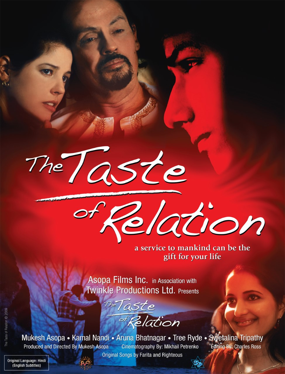 Poster for The Taste of Relation showing protagonists.