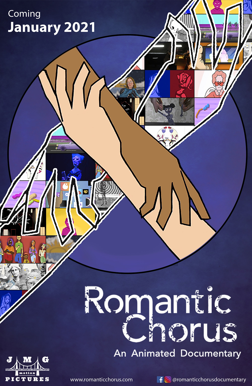 Poster for Romantic Chorus showing animation.