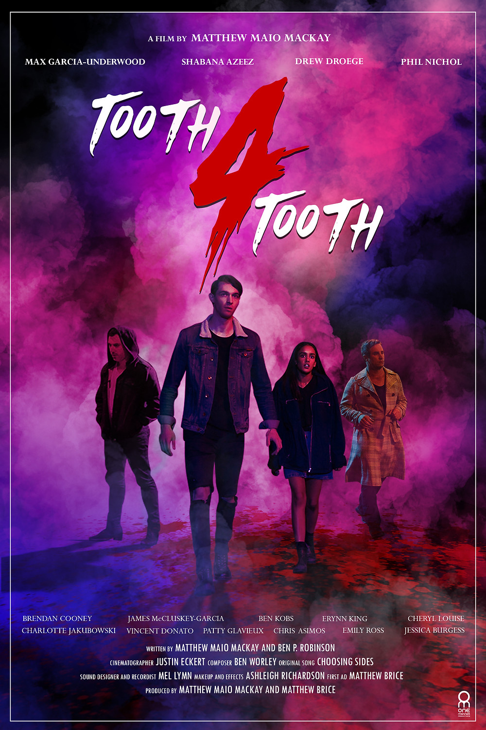 Poster for Tooth 4 Tooth showing protagonists.