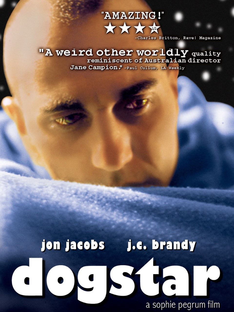Poster for Dogstar showing protagonist.