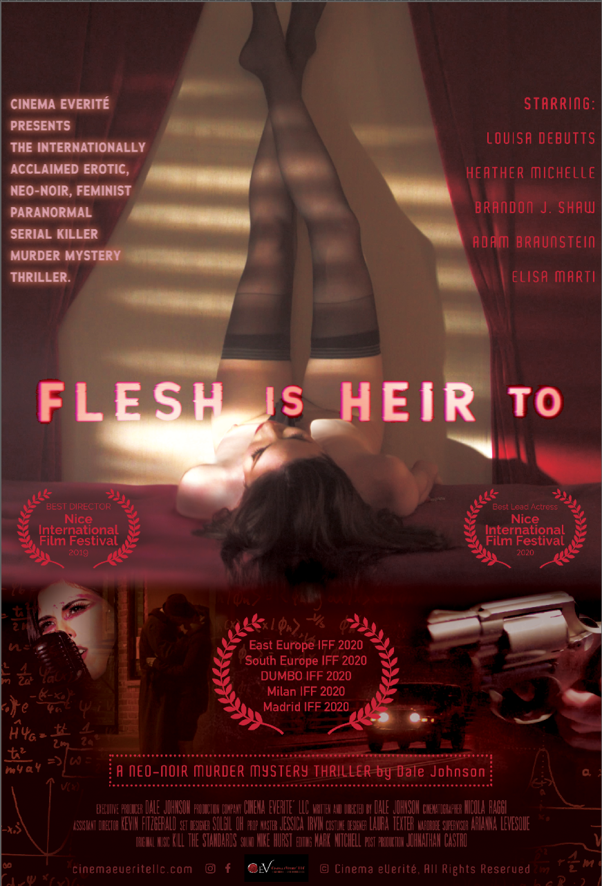 Poster for Flesh Is Heir To showing protagonist.
