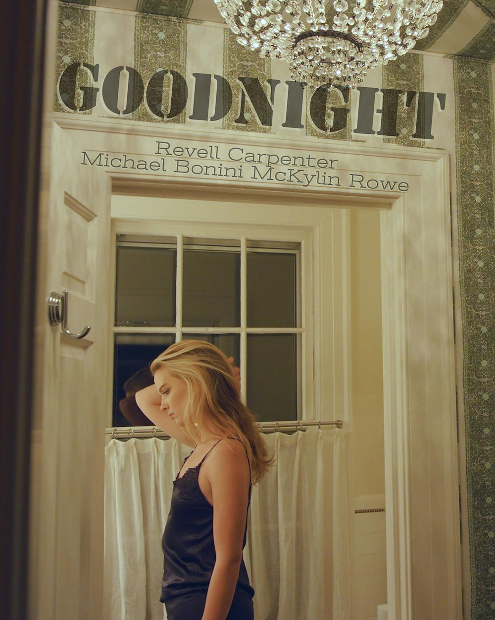 Poster for Goodnight showing protagonist.