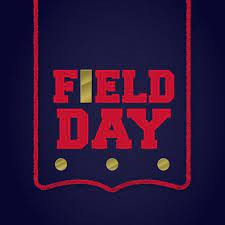 Poster for Field Day showing title.