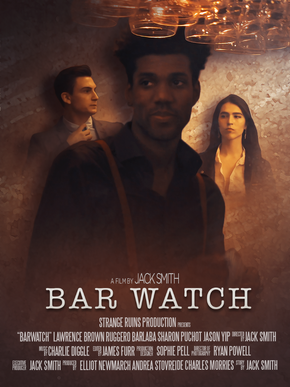 Poster for Bar Watch showing protagonists.