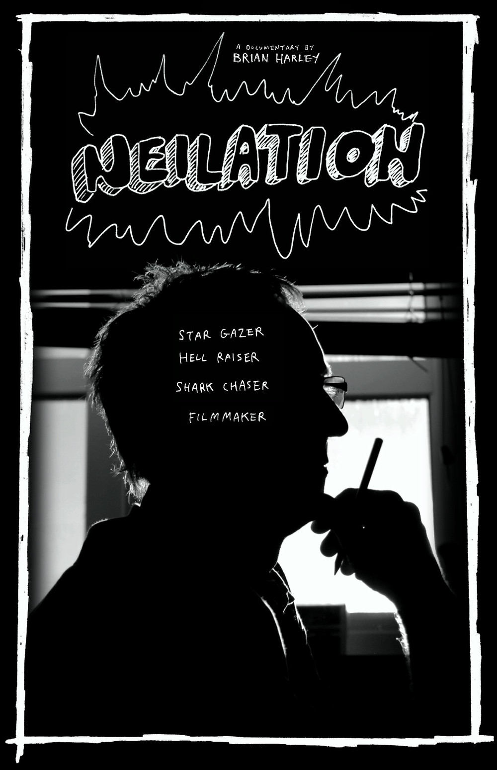 Poster for Neilation showing character.