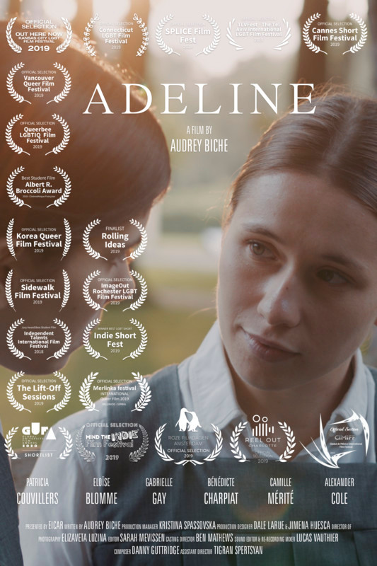 Poster for Adeline showing protagonists.