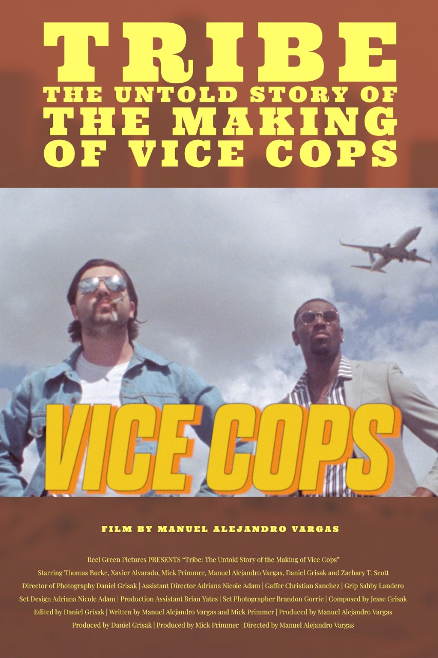 Poster for Tribe: The Untold Story of The Making of Vice Cops showing protagonists.