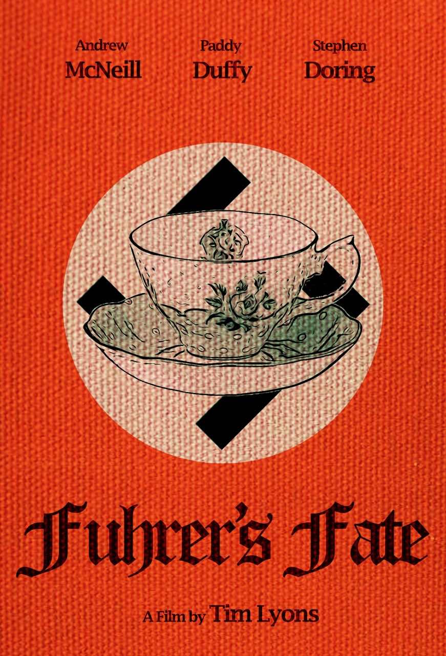 Poster for Fuhrer's Fate showing animation.