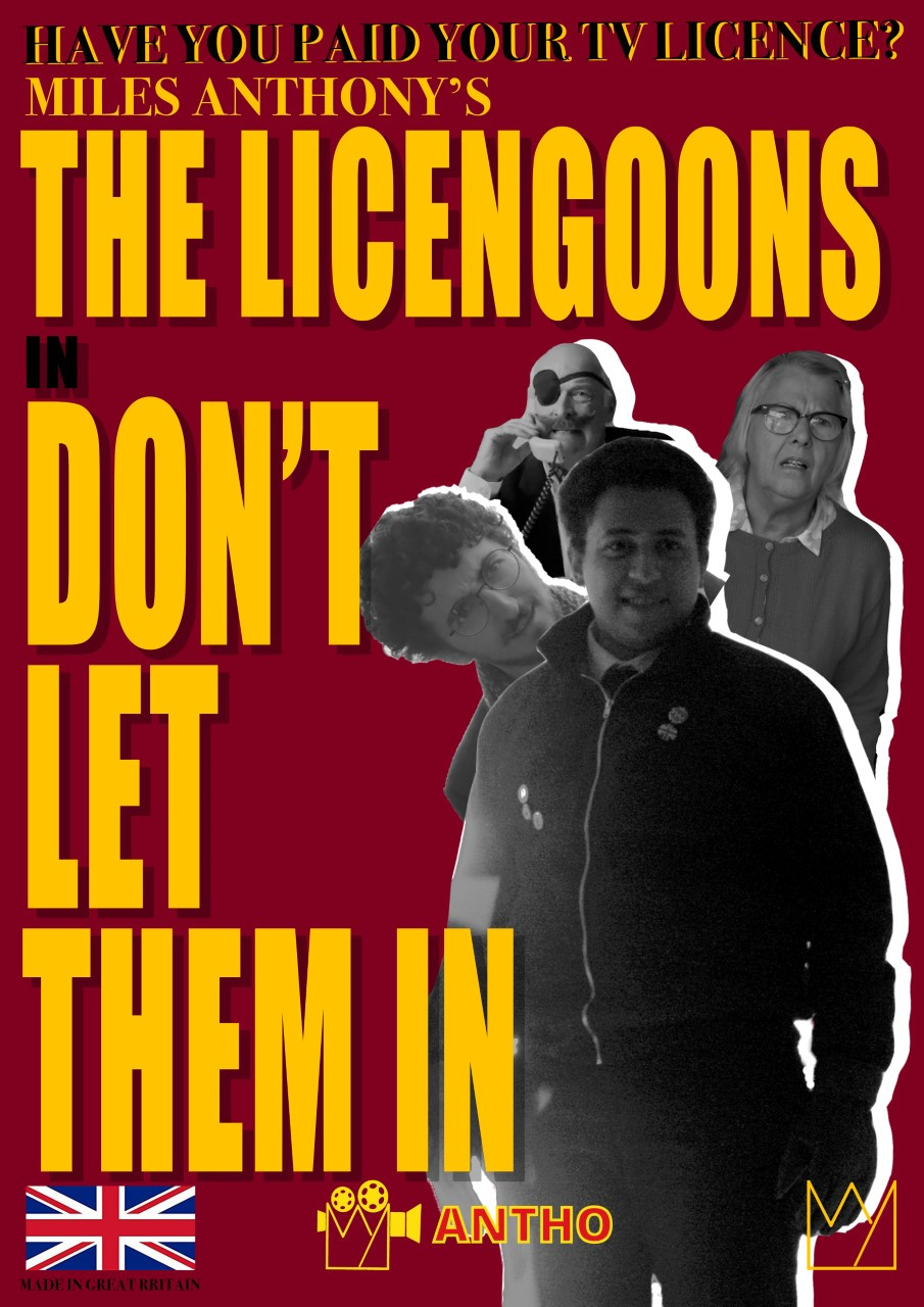 Poster for The Licengoons showing protagonists.