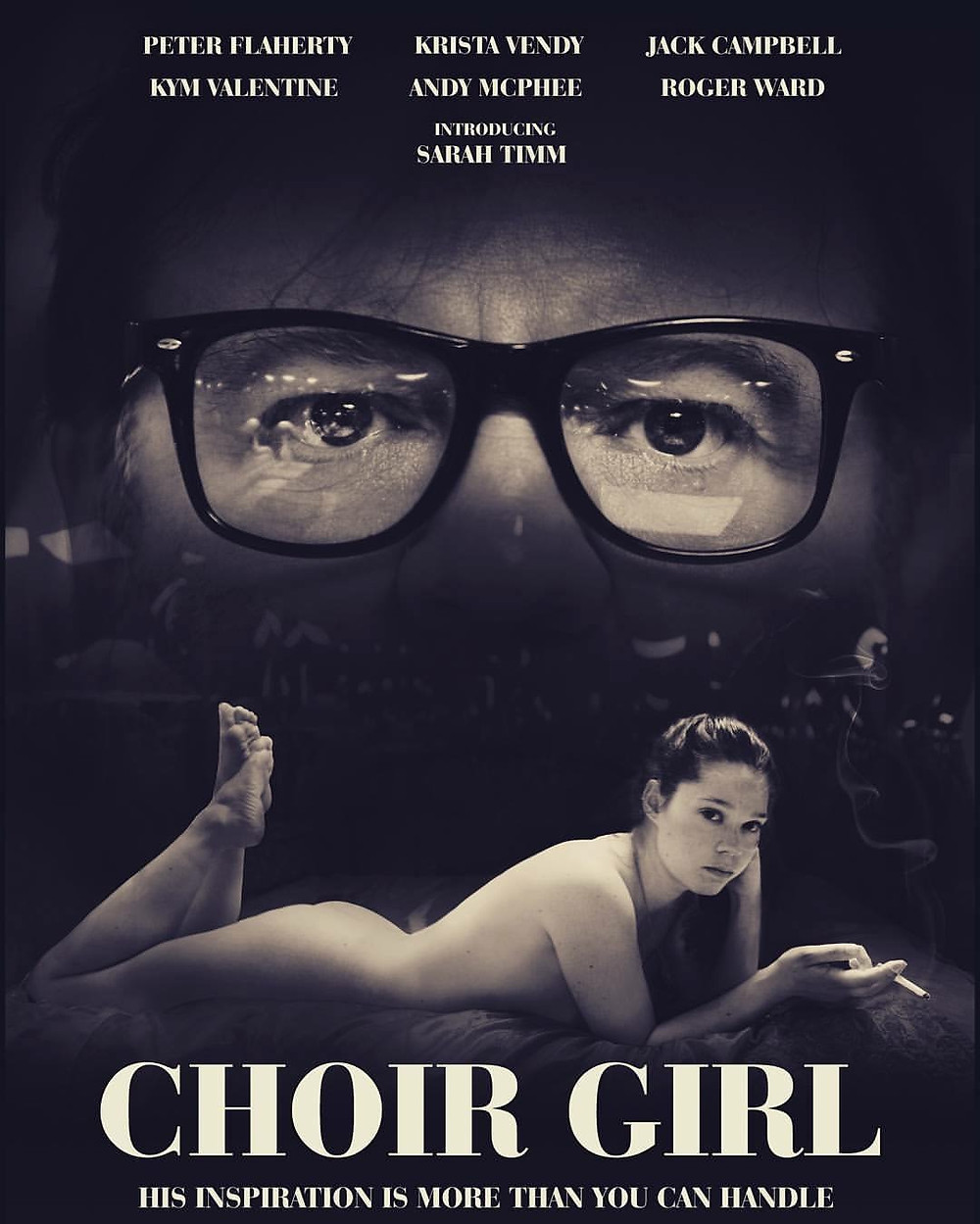 Poster for Choir Girl showing protagonists.