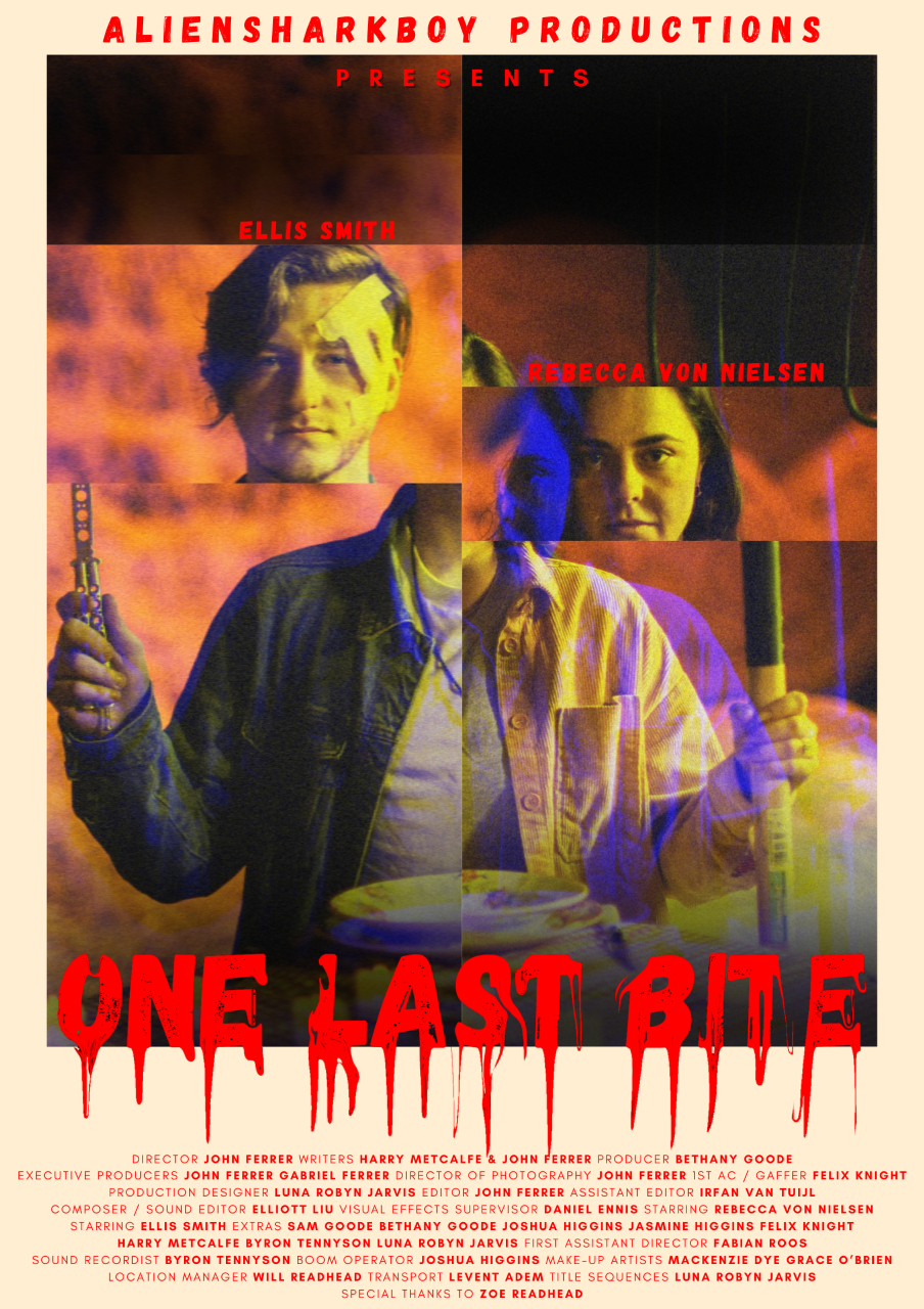 Poster for One Last Bite showing protagonists.
