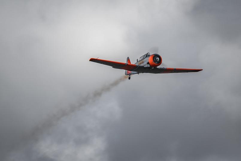 AT-6C Harvard Smoke-on
