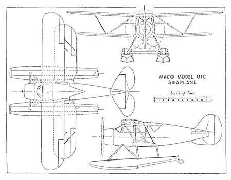 Možnost úpravy YKS-6 Waco s plováky