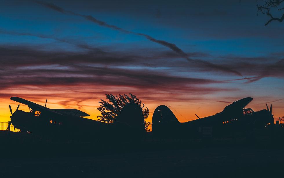 Západ slunce nad AN2